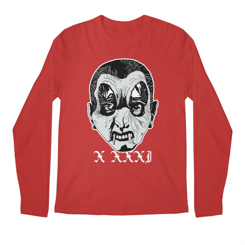 "X XXXI ""Vampire Kid"" Men's Regular Longsleeve T-Shirt by Cold Lantern Collection"