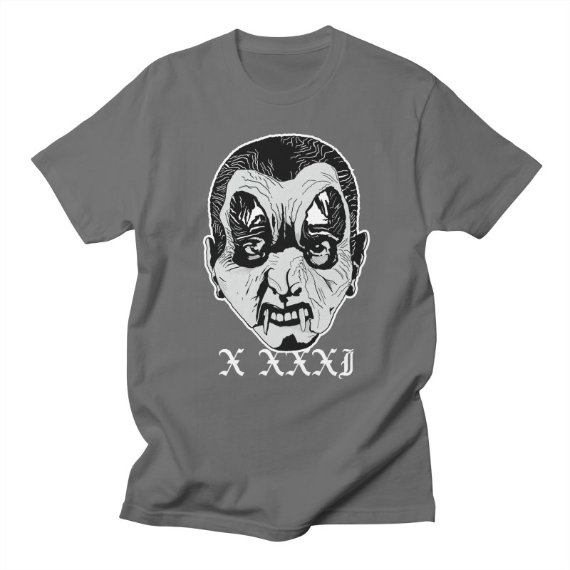 "X XXXI ""Vampire Kid"" Men's T-Shirt by Cold Lantern Design"