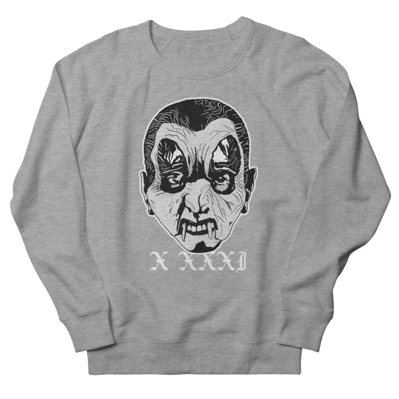 "X XXXI ""Vampire Kid"" Women's French Terry Sweatshirt by Cold Lantern Design"