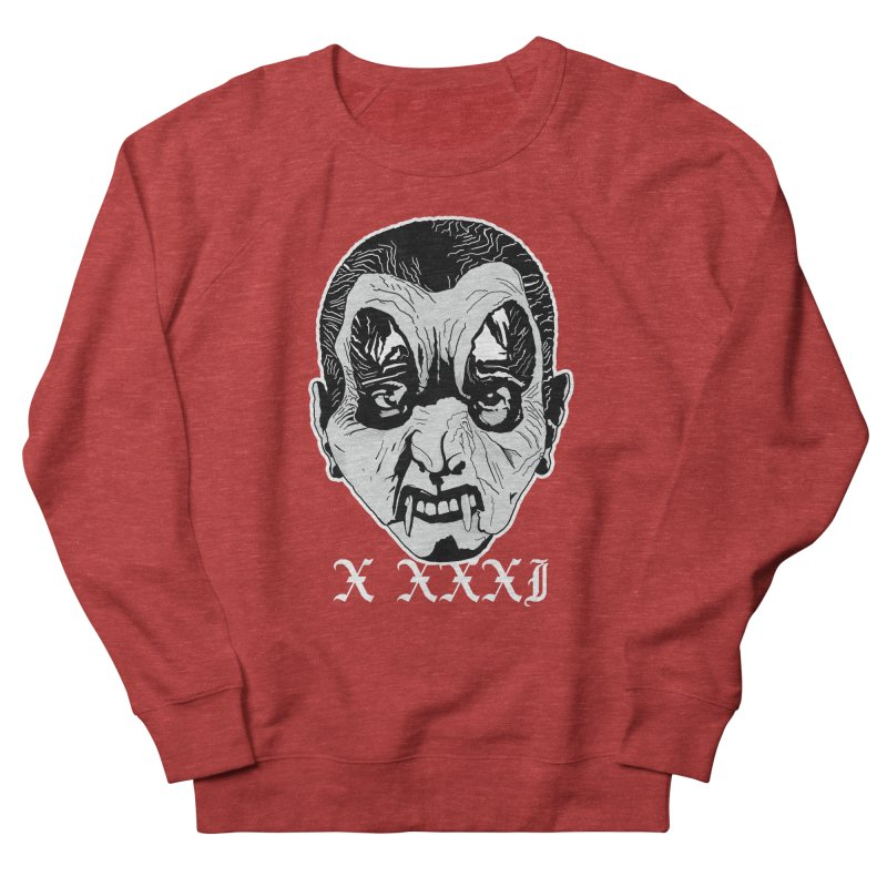 "X XXXI ""Vampire Kid"" Men's French Terry Sweatshirt by Cold Lantern Design"