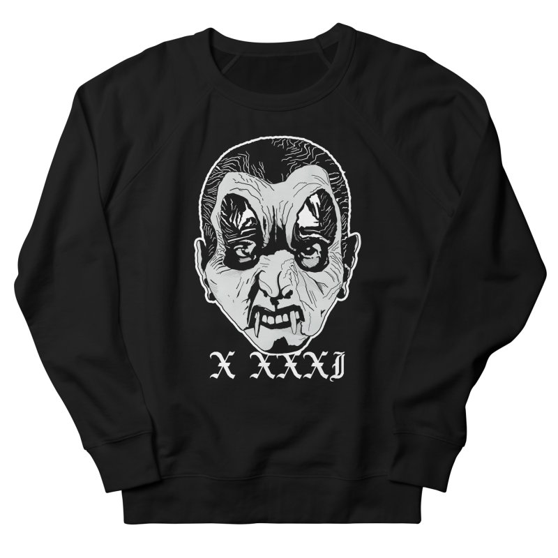 """X XXXI """"Vampire Kid"""" Men's French Terry Sweatshirt by Cold Lantern Collection"""