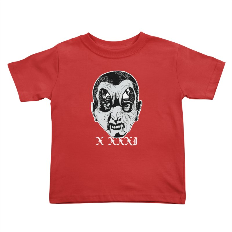 """X XXXI """"Vampire Kid"""" Kids Toddler T-Shirt by Cold Lantern Collection"""