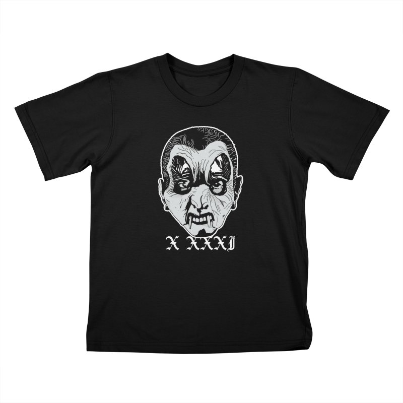 "X XXXI ""Vampire Kid"" Kids T-Shirt by Cold Lantern Collection"