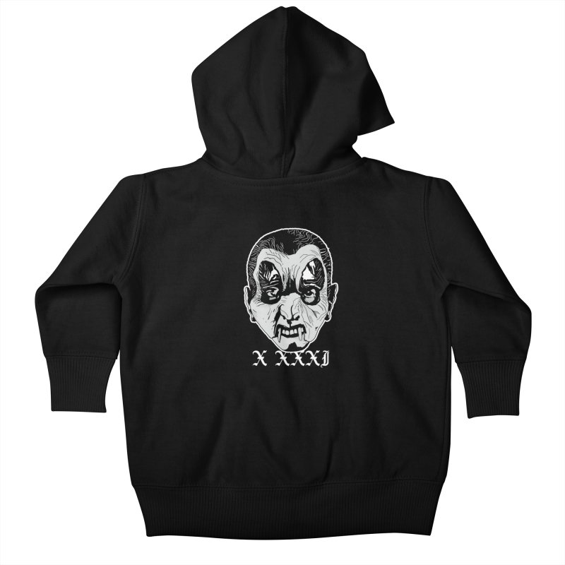 "X XXXI ""Vampire Kid"" Kids Baby Zip-Up Hoody by Cold Lantern Collection"