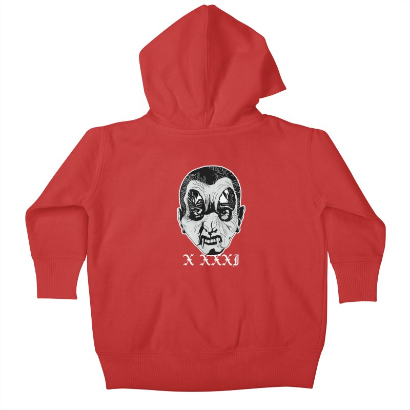 """X XXXI """"Vampire Kid"""" Kids Baby Zip-Up Hoody by Cold Lantern Collection"""