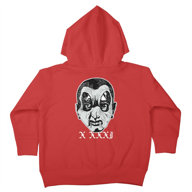 """X XXXI """"Vampire Kid"""" Kids Toddler Zip-Up Hoody by Cold Lantern Collection"""