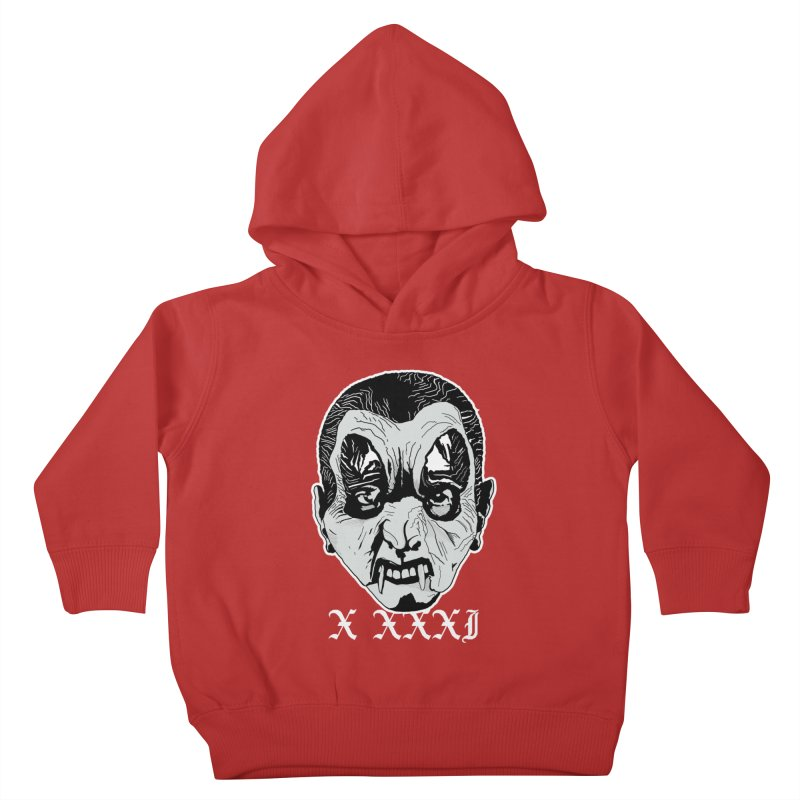 "X XXXI ""Vampire Kid"" Kids Toddler Pullover Hoody by Cold Lantern Collection"