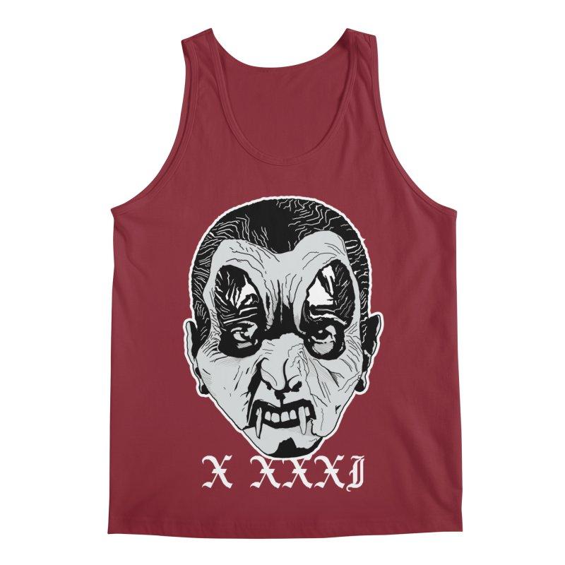 "X XXXI ""Vampire Kid"" Men's Regular Tank by Cold Lantern Collection"