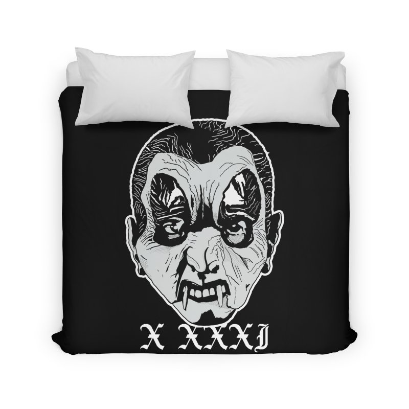 "X XXXI ""Vampire Kid"" Home Duvet by Cold Lantern Collection"