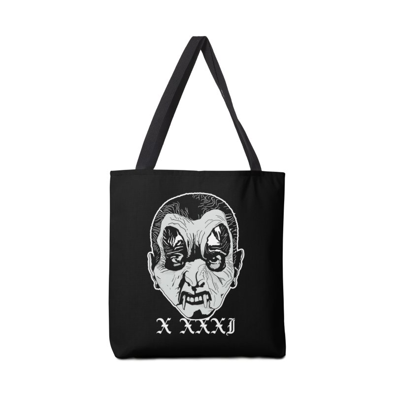 "X XXXI ""Vampire Kid"" Accessories Tote Bag Bag by Cold Lantern Collection"