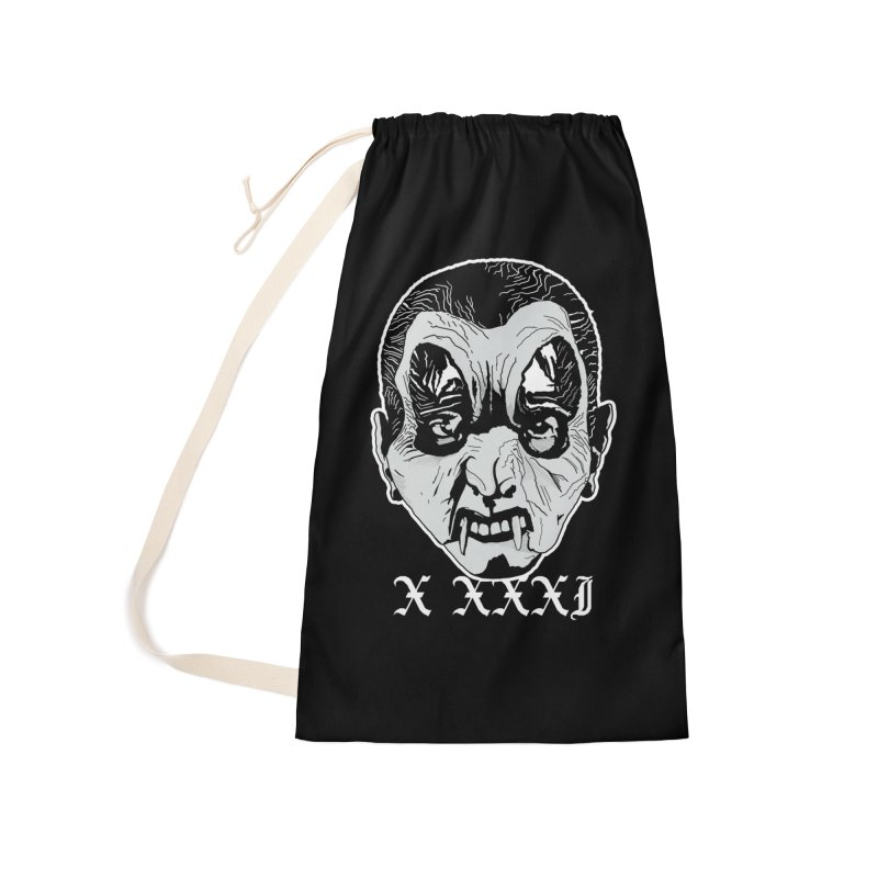 "X XXXI ""Vampire Kid"" Accessories Laundry Bag Bag by Cold Lantern Collection"