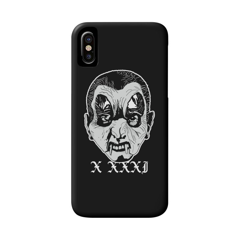 "X XXXI ""Vampire Kid"" Accessories Phone Case by Cold Lantern Collection"