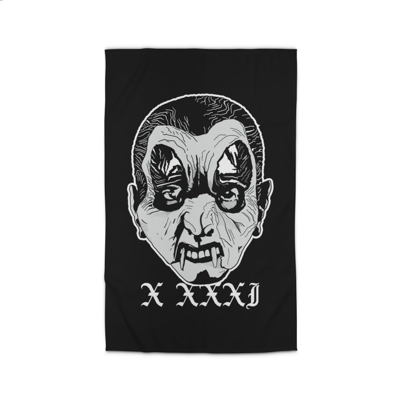 "X XXXI ""Vampire Kid"" Home Rug by Cold Lantern Design"