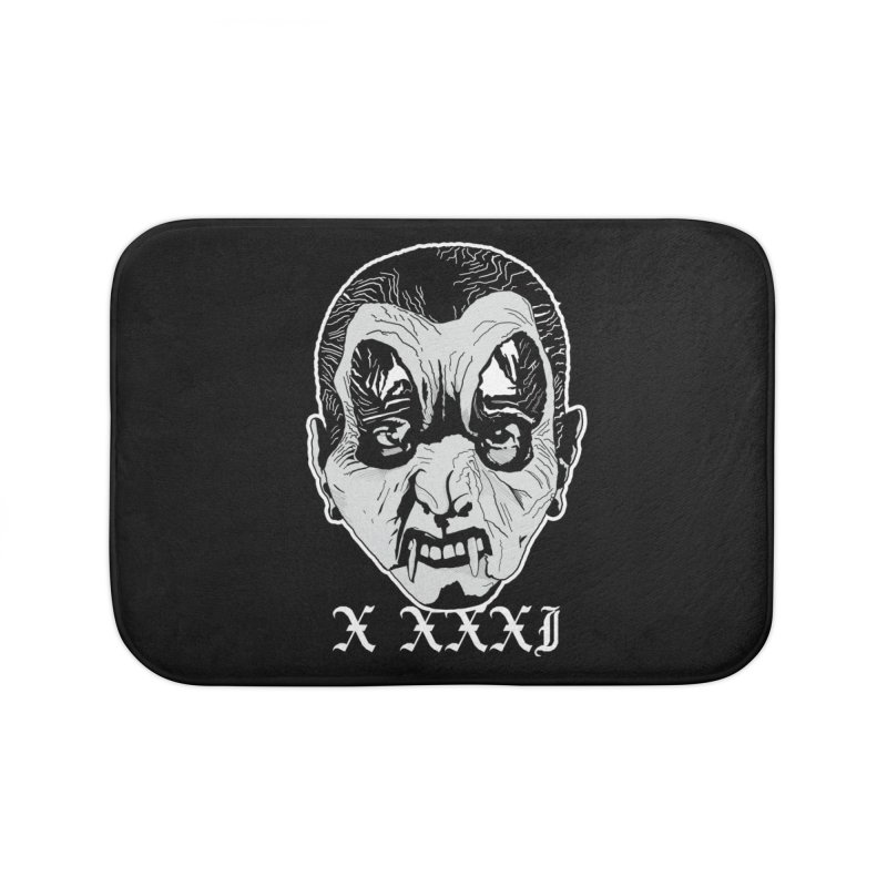 "X XXXI ""Vampire Kid"" Home Bath Mat by Cold Lantern Collection"