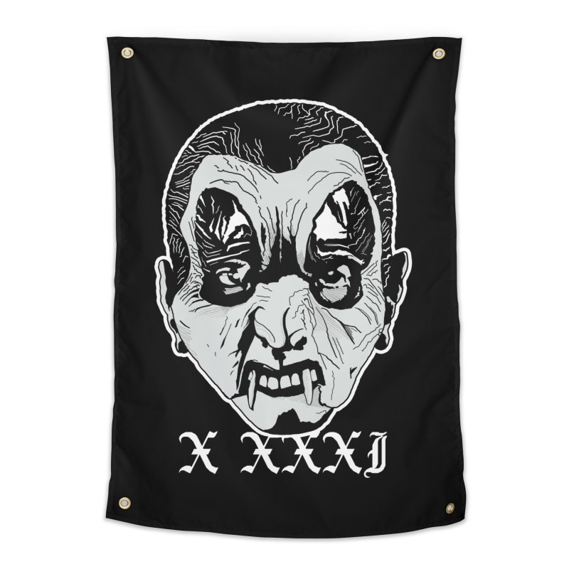 "X XXXI ""Vampire Kid"" Home Tapestry by Cold Lantern Design"