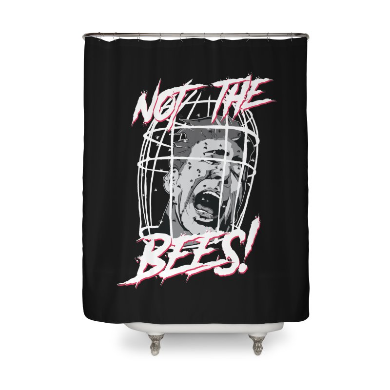 Not the Bees! Home Shower Curtain by Cold Lantern Collection