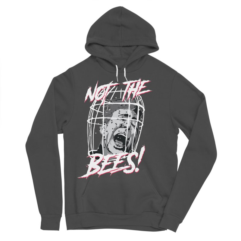 Not the Bees! Men's Sponge Fleece Pullover Hoody by Cold Lantern Collection