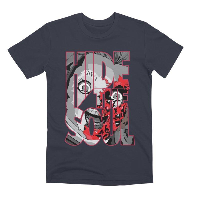 Hide The Soul Men's Premium T-Shirt by Cold Lantern Design