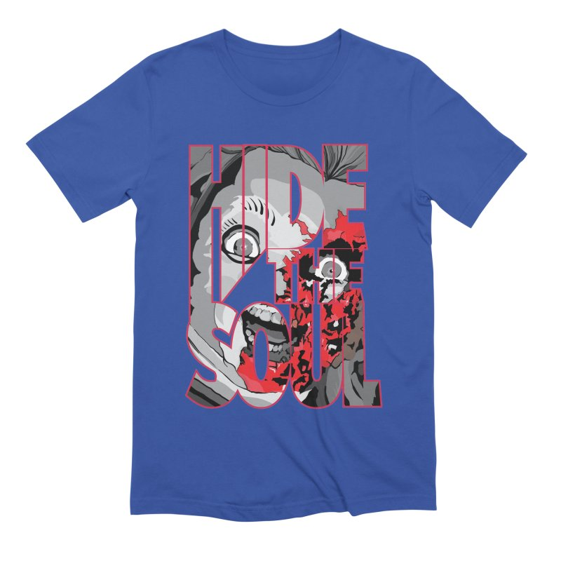 Hide The Soul Men's Extra Soft T-Shirt by Cold Lantern Collection