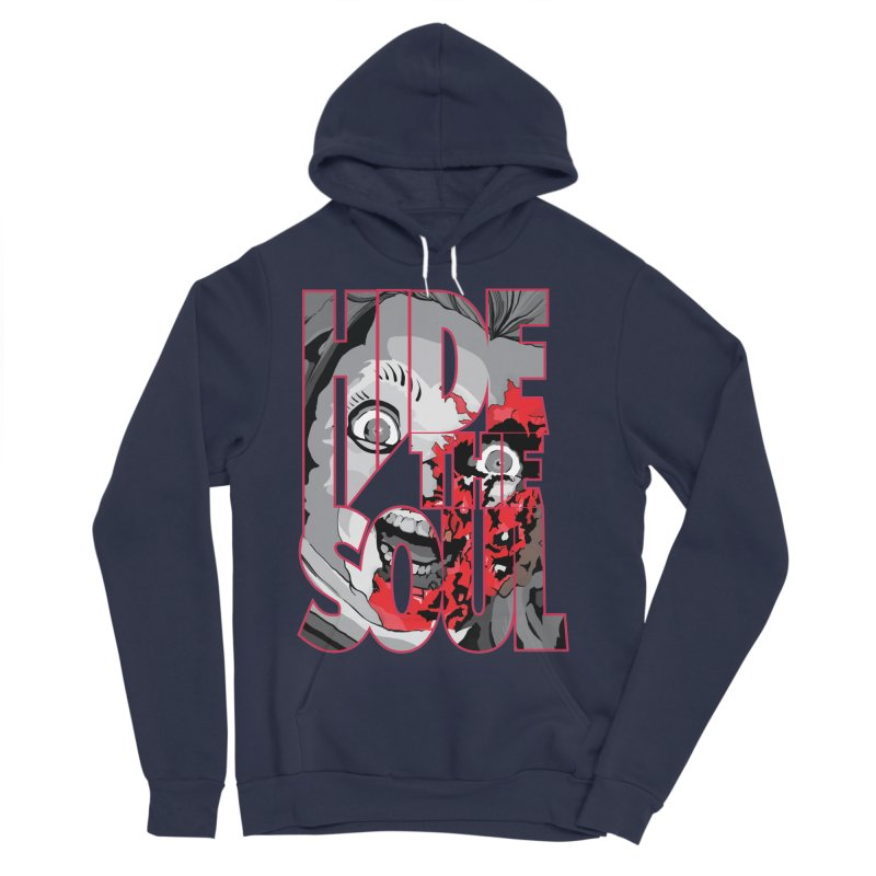 Hide The Soul Men's Sponge Fleece Pullover Hoody by Cold Lantern Collection
