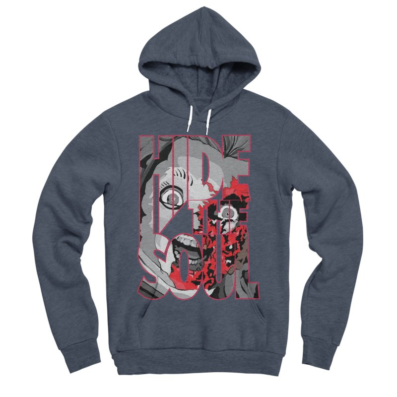 Hide The Soul Women's Sponge Fleece Pullover Hoody by Cold Lantern Collection