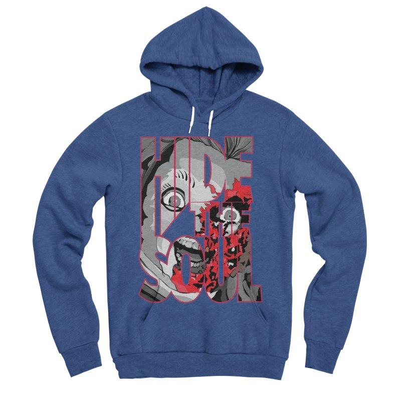Hide The Soul Men's Sponge Fleece Pullover Hoody by Cold Lantern Design