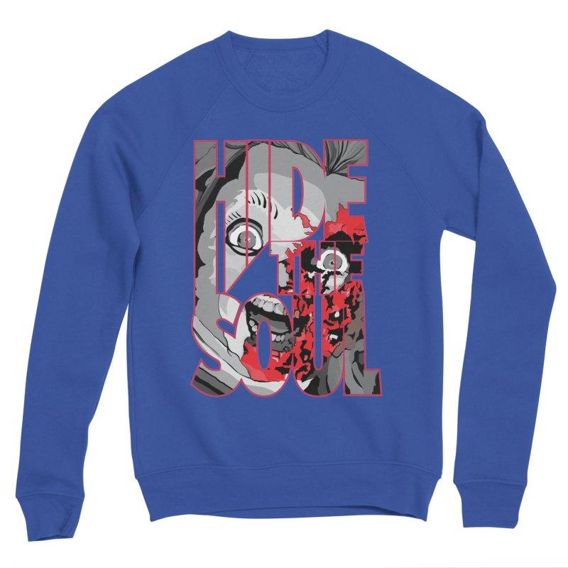 Hide The Soul Men's Sponge Fleece Sweatshirt by Cold Lantern Collection