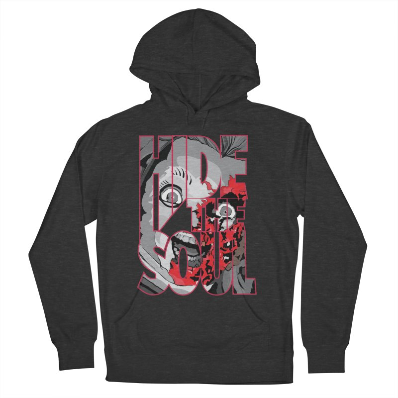 Hide The Soul Women's French Terry Pullover Hoody by Cold Lantern Collection