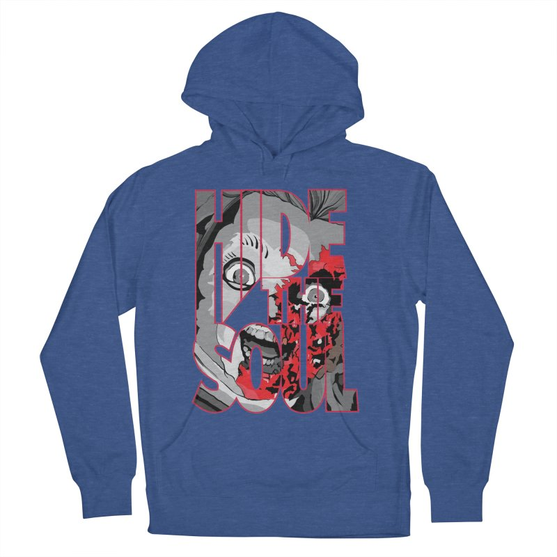 Hide The Soul Women's French Terry Pullover Hoody by Cold Lantern Design