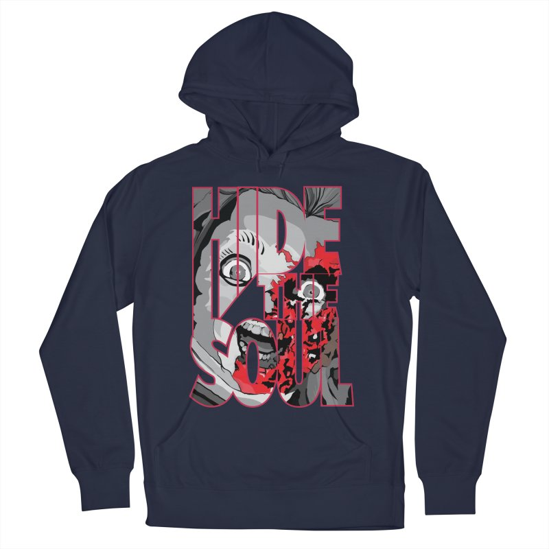 Hide The Soul Men's Pullover Hoody by Cold Lantern Design