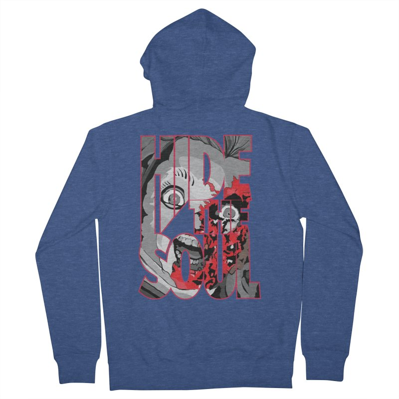 Hide The Soul Women's French Terry Zip-Up Hoody by Cold Lantern Design