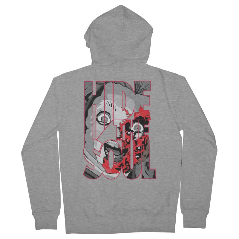 Hide The Soul Women's French Terry Zip-Up Hoody by Cold Lantern Collection