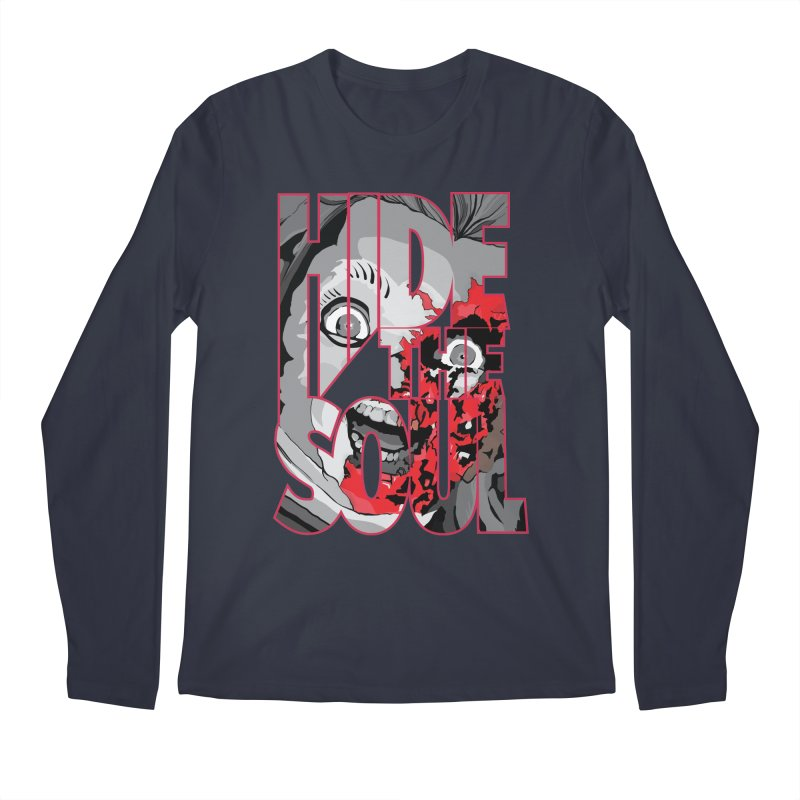 Hide The Soul Men's Regular Longsleeve T-Shirt by Cold Lantern Collection