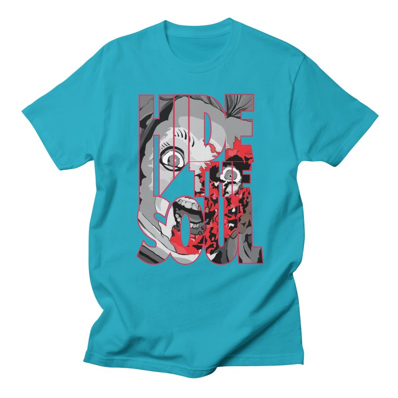 Hide The Soul Men's Regular T-Shirt by Cold Lantern Collection