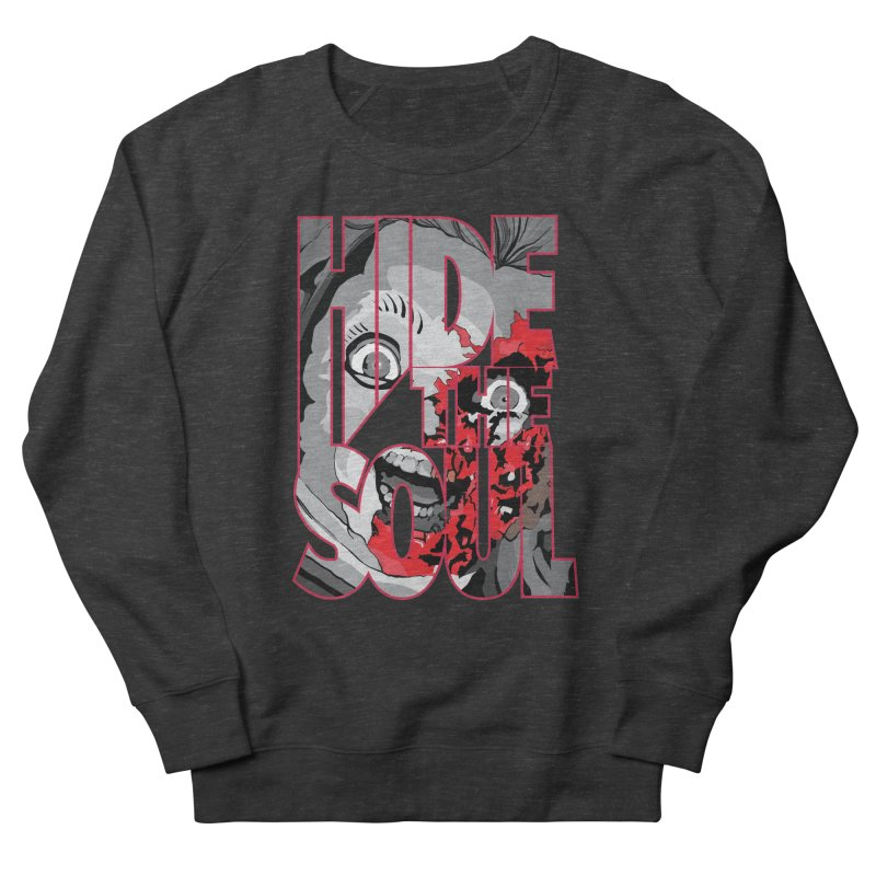 Hide The Soul Men's French Terry Sweatshirt by Cold Lantern Design