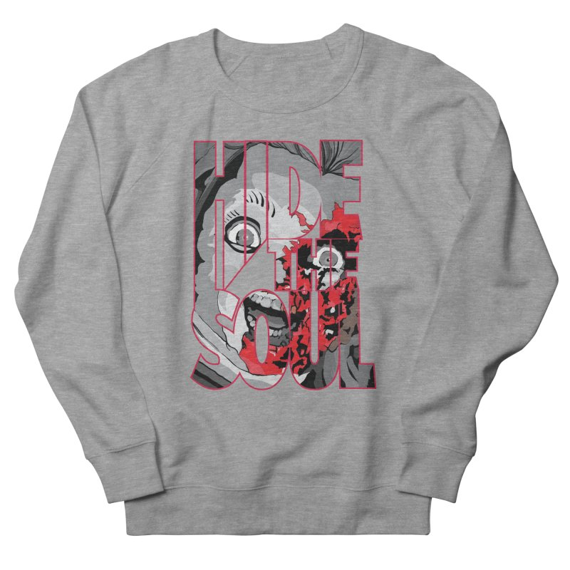 Hide The Soul Men's French Terry Sweatshirt by Cold Lantern Collection