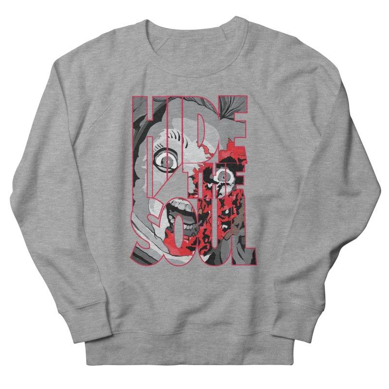 Hide The Soul Men's Sweatshirt by Cold Lantern Design