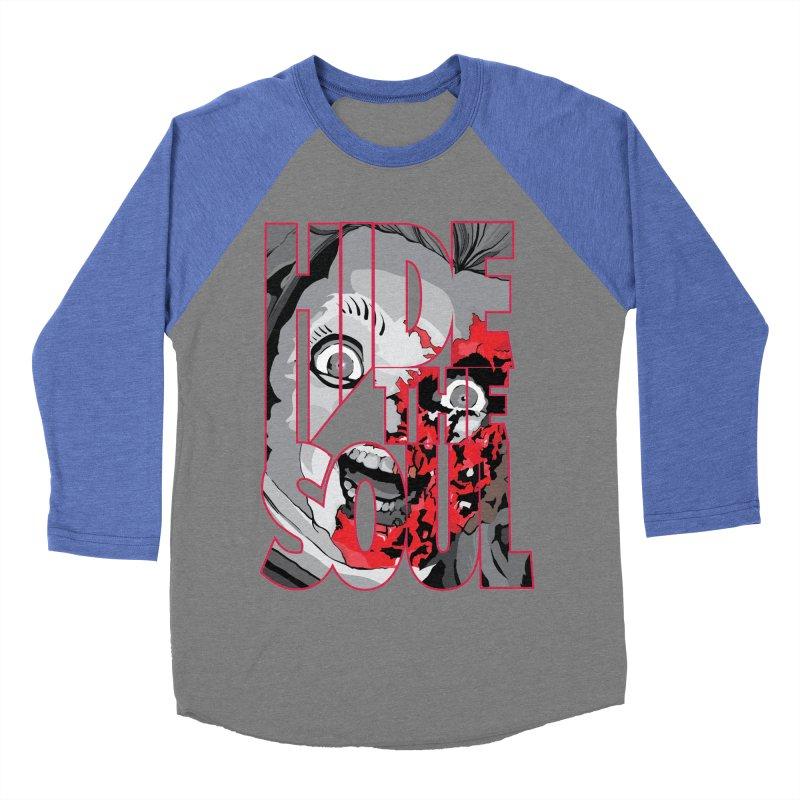 Hide The Soul Men's Baseball Triblend Longsleeve T-Shirt by Cold Lantern Design