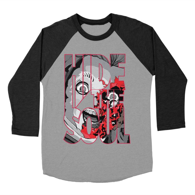 Hide The Soul Men's Baseball Triblend Longsleeve T-Shirt by Cold Lantern Collection