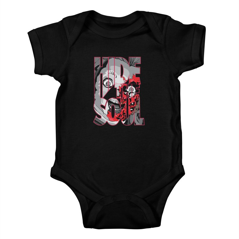Hide The Soul Kids Baby Bodysuit by Cold Lantern Collection