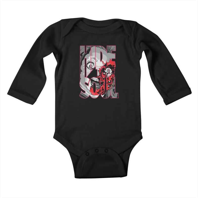 Hide The Soul Kids Baby Longsleeve Bodysuit by Cold Lantern Collection