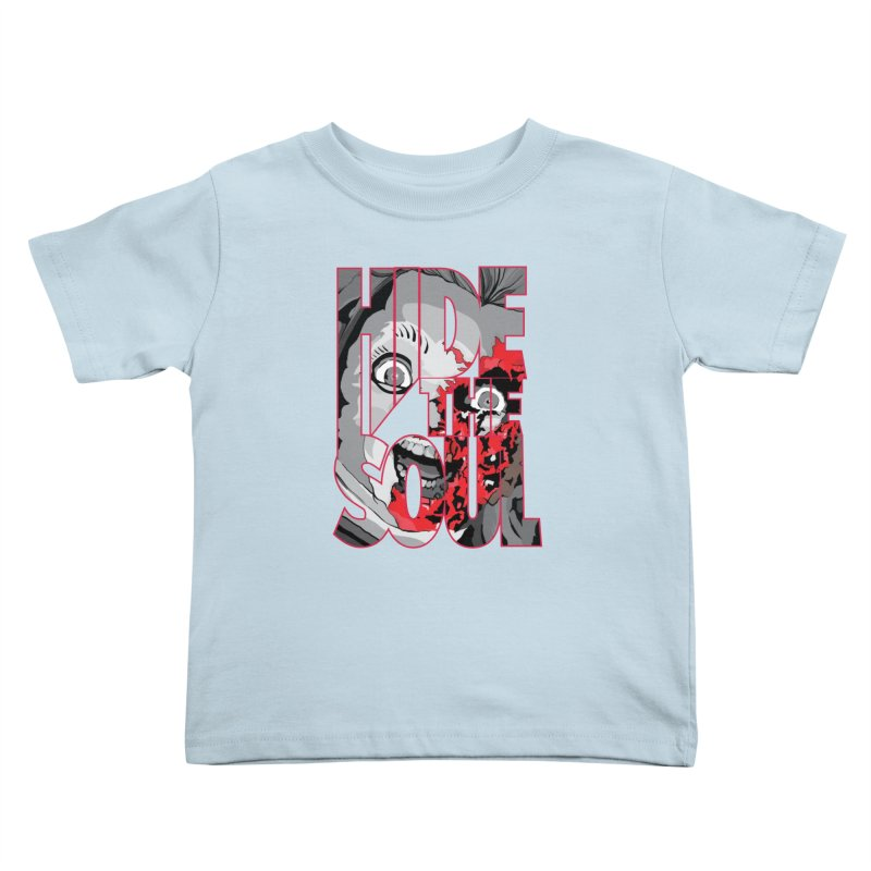 Hide The Soul Kids Toddler T-Shirt by Cold Lantern Collection