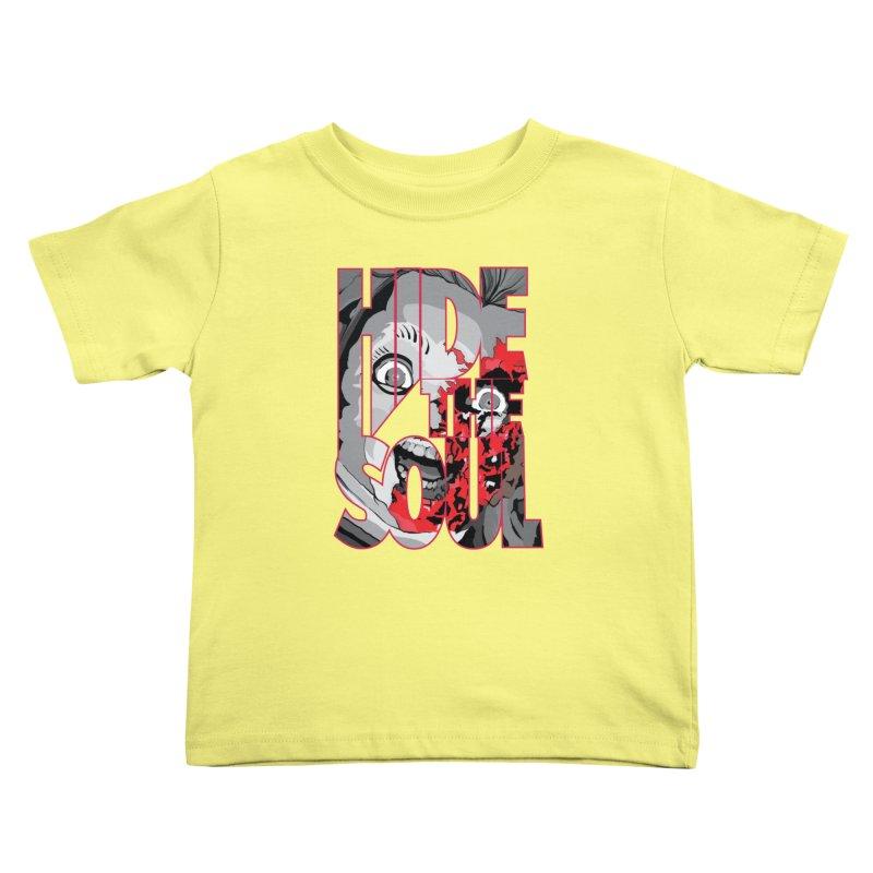 Hide The Soul Kids Toddler T-Shirt by Cold Lantern Design