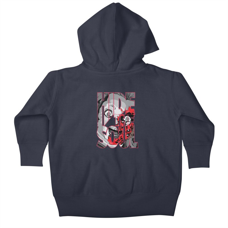 Hide The Soul Kids Baby Zip-Up Hoody by Cold Lantern Collection