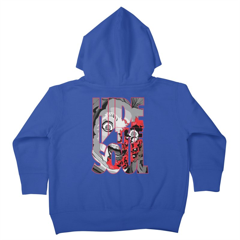 Hide The Soul Kids Toddler Zip-Up Hoody by Cold Lantern Collection