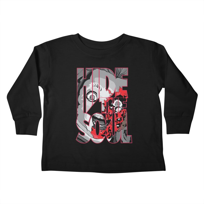 Hide The Soul Kids Toddler Longsleeve T-Shirt by Cold Lantern Collection