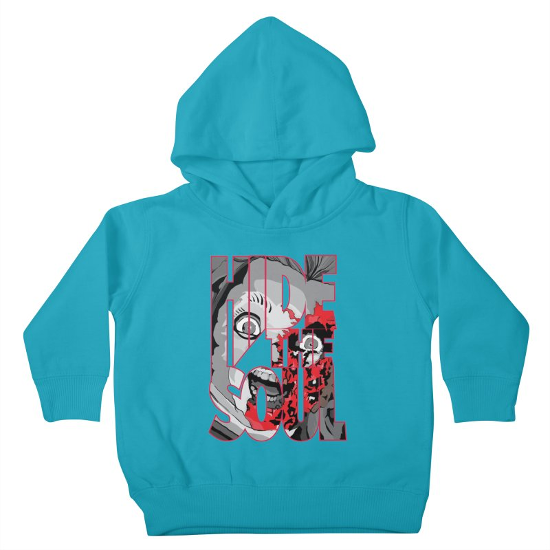Hide The Soul Kids Toddler Pullover Hoody by Cold Lantern Collection