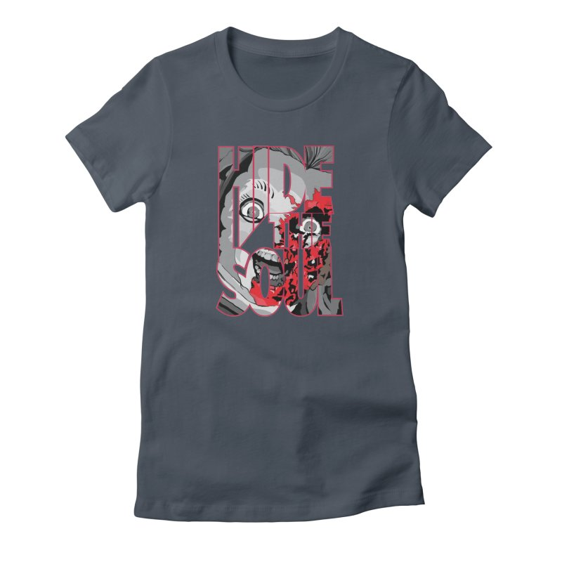 Hide The Soul Women's T-Shirt by Cold Lantern Collection