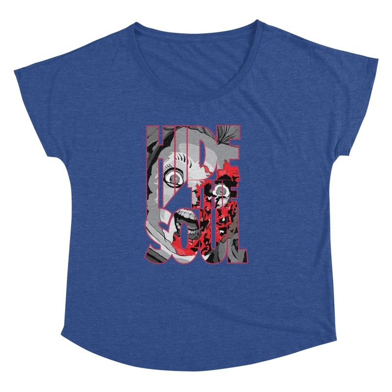 Hide The Soul Women's Dolman Scoop Neck by Cold Lantern Collection