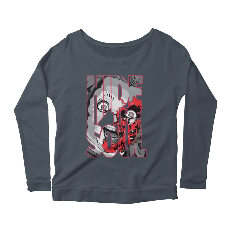 Hide The Soul Women's Scoop Neck Longsleeve T-Shirt by Cold Lantern Collection